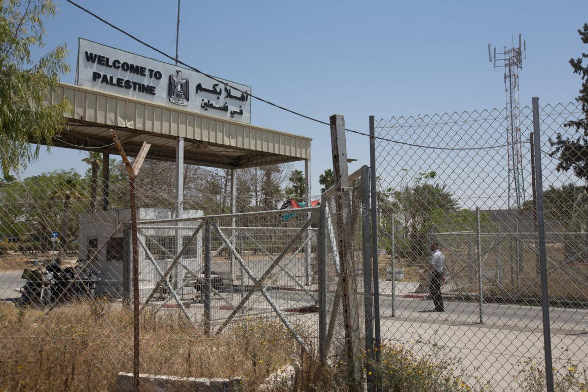 Rafah Crossing. Photo by Eman Mohammed