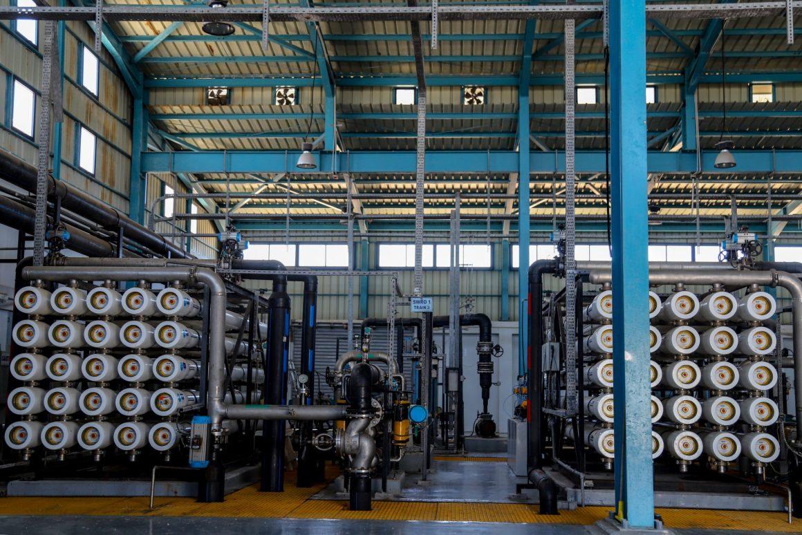 Water Desalination Station (2019). Photo by Asmaa Elkhaldi