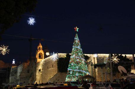 Christmas in Bethlehem, 2016. Photo by Fjmustak