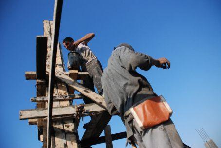 Construction in Gaza. Photo by Karl Schembri