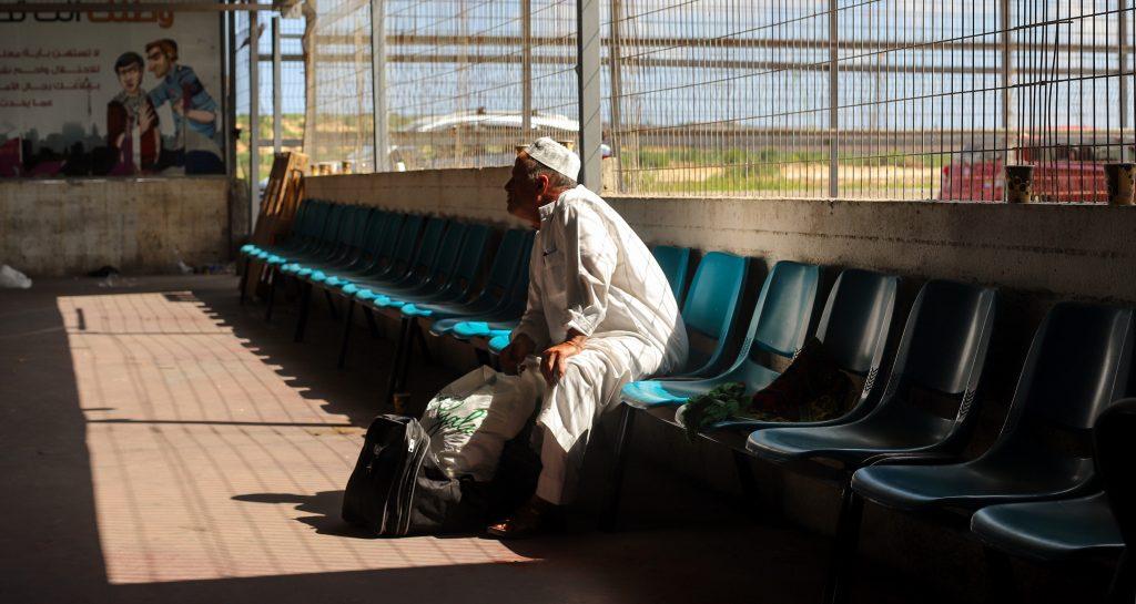 The Palestinian side of Erez Crossing. Photo by Asmaa Elkhaldi