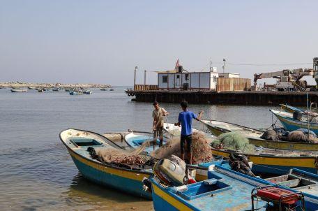 Gaza port, 2019. Photo: Asmaa Elkhaldi.