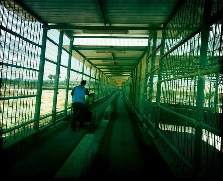 Photo: Erez Crossing by Diana Whitten