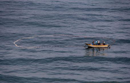 Fishermen in Gaza. Photo by Gisha.