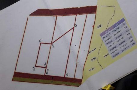Map of the fishing zone. Photo by Al-Tawfiq Labor Union