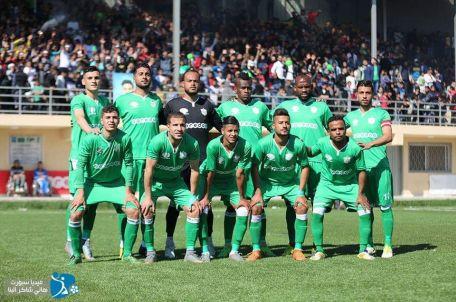 The Khadamat Rafah football team. Photo by the Rafah Sports Club