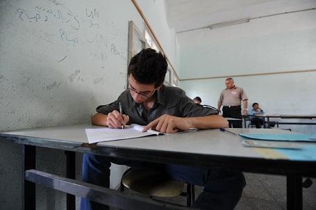 A student in Gaza. Photo: Karl Schembri
