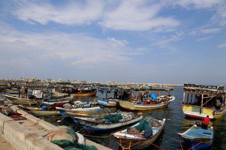 The fishermen's port in Gaza. Photo by Gisha