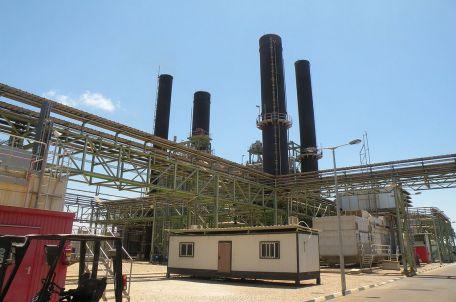 The power plant in Gaza, 2015. Photo by Gisha