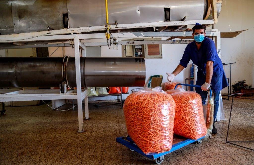 מפעל סראיו אל-ואדיה בעזה. צילום: גישה