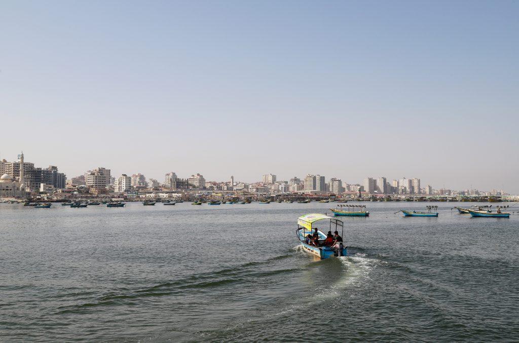 סירות דיג בנמל עזה. צילום: אסמאא ח'אלידי