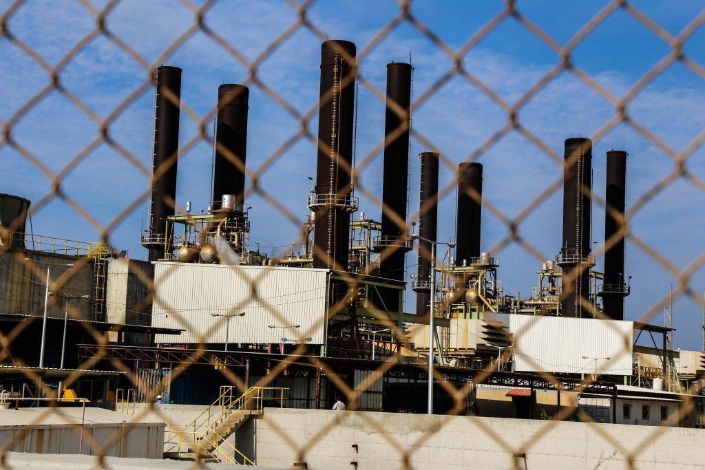 תחנת הכוח בעזה. צילום גישה