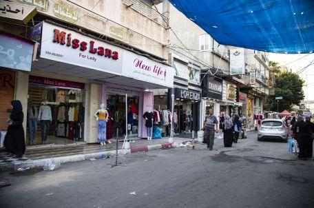 רחוב בעזה. צילום: אסמא ח'אלידי