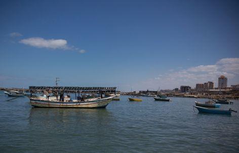 נמל עזה. צילום: אימאן מוחמד