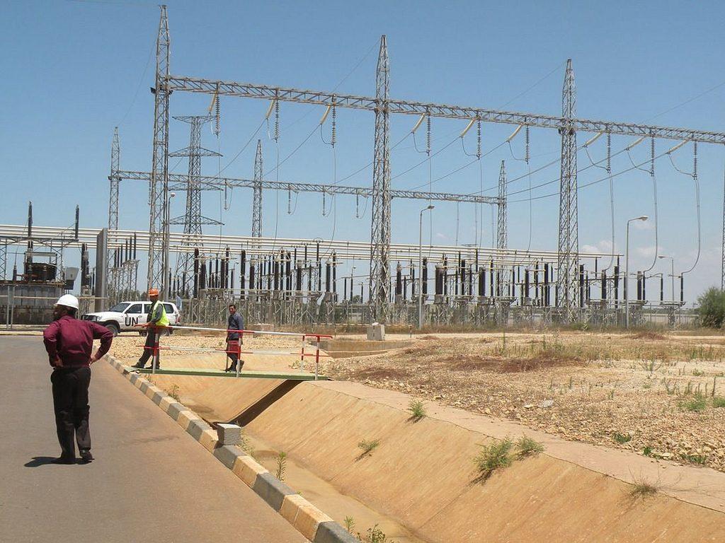 תחנת הכוח בעזה. צילום: גישה