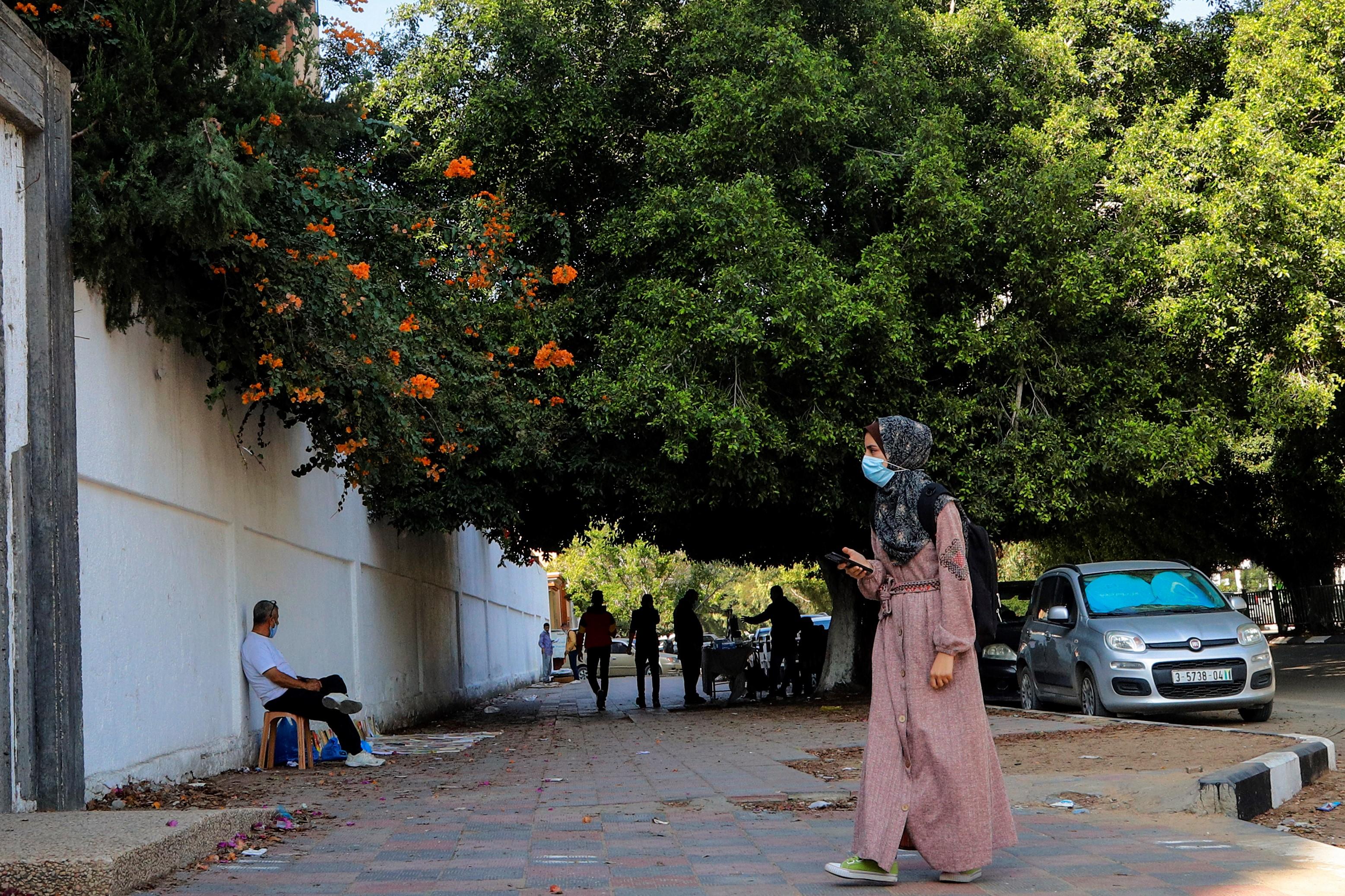 مدينة غزة، تشرين ثاني 2020. تصوير: أسماء خالدي