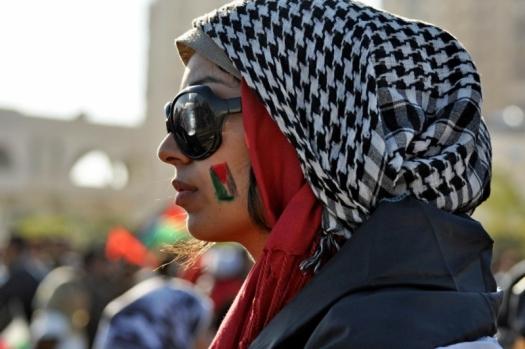 A woman in Gaza. Photo: Karl Schembri