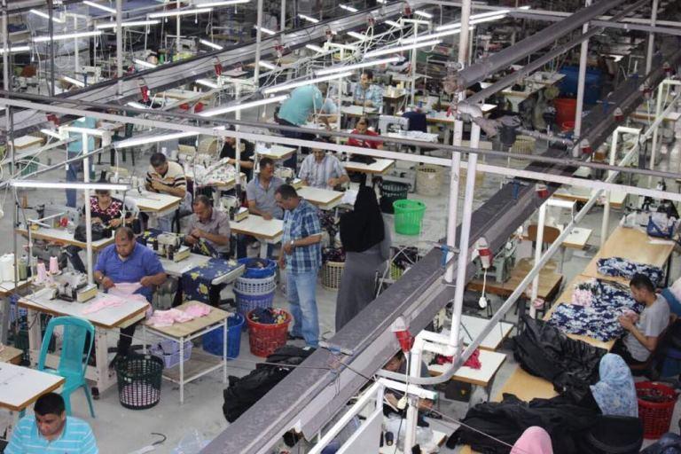 תעשיית הטקסטיל בעזה רוצה לפרוץ אך נתקלת בקשיי הסגר