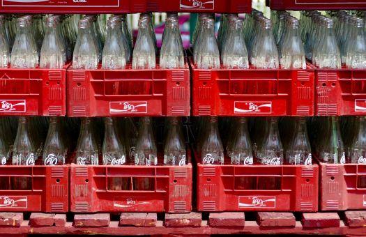 בקבוקי קוקה-קולה. צילום: pixabay
