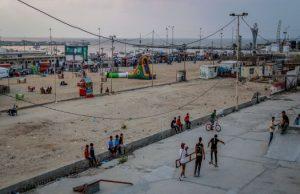 נוער בעזה. צילום: אסמאא ח'אלידי