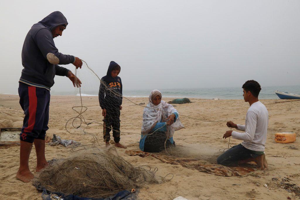 משפחת אלשיך. צילומים: אסמאא ח'אלידי