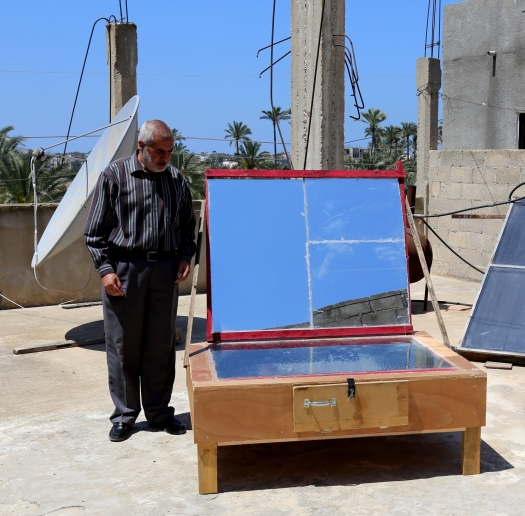 """""""I want to see the young people of Gaza turn to alternative energy"""". Bashir"""