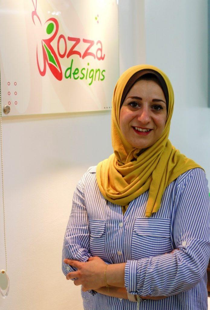 Rozan Al Khazendar. Photo by Asmaa Elkhaldi