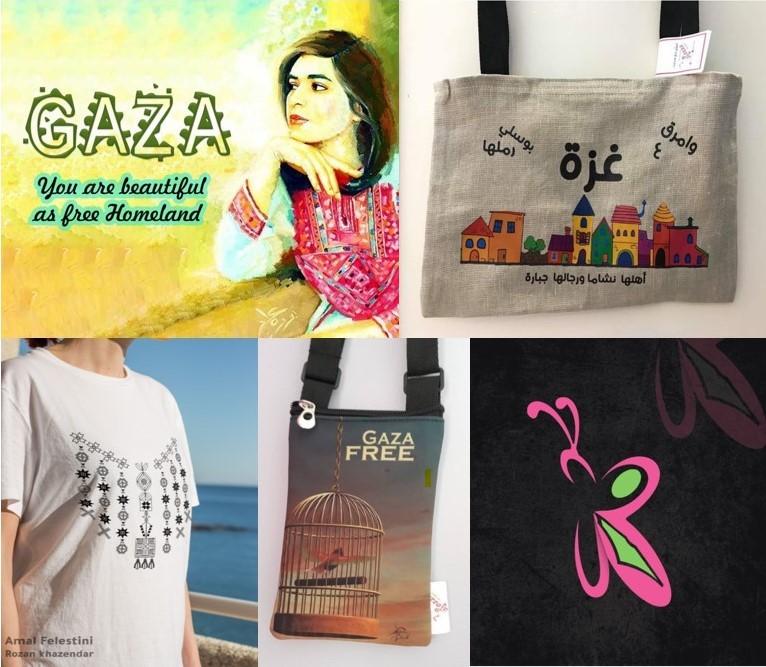 A selection of Al Khazendar's designs.